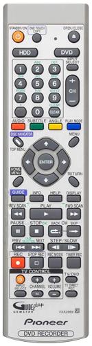 pioneer dvr 530h s wvxv genuine original remote control rh ebay com H 264 DVR System Manuals Honeywell DVR Manual
