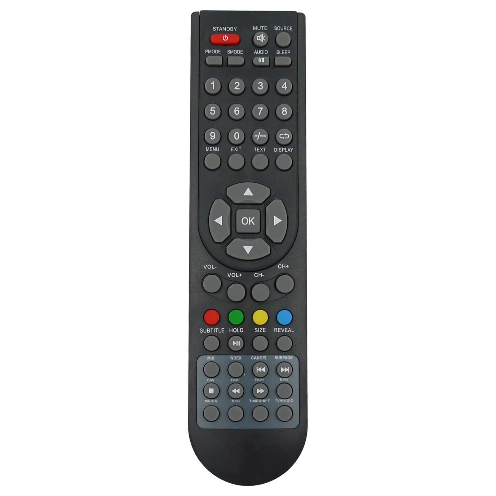 remote control for grundig gu37fhd1080 tv 7091236818760 ebay. Black Bedroom Furniture Sets. Home Design Ideas